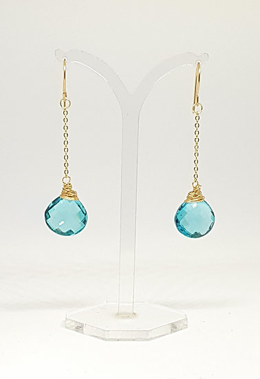 Apatite Briolette Earrings