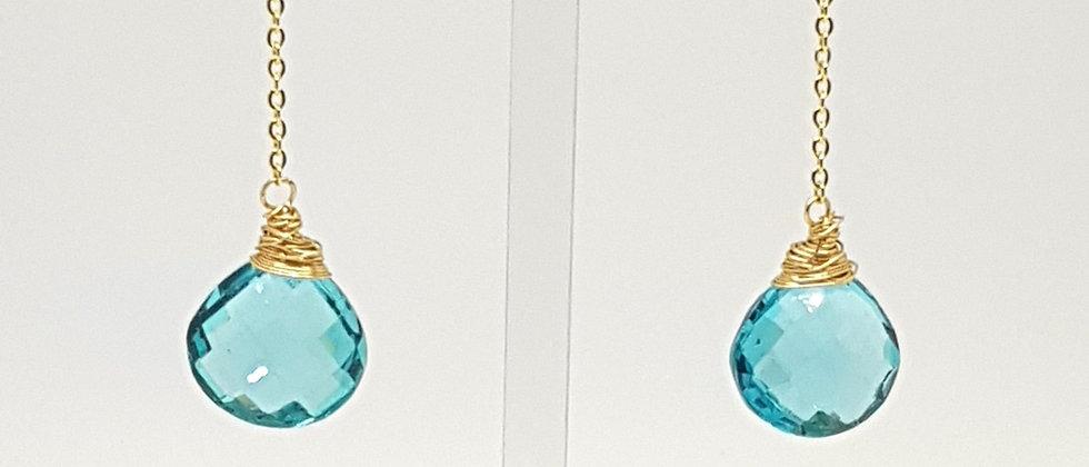 Apatite Briolette Earrings