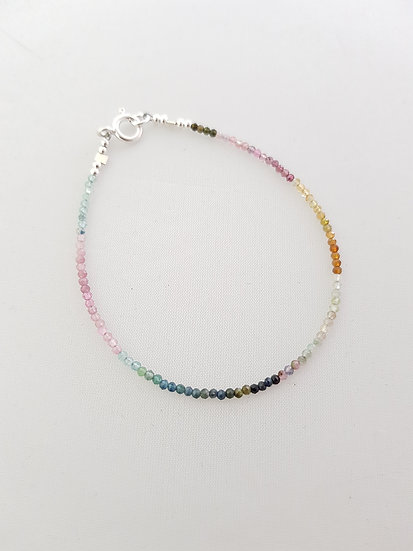 Multi-Tourmaline Bracelet: single | multi