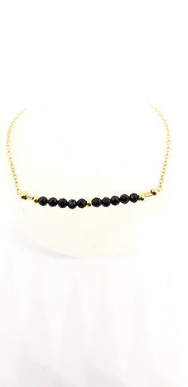 Gold Filled & Gemstone Bracelet - I smile you smile