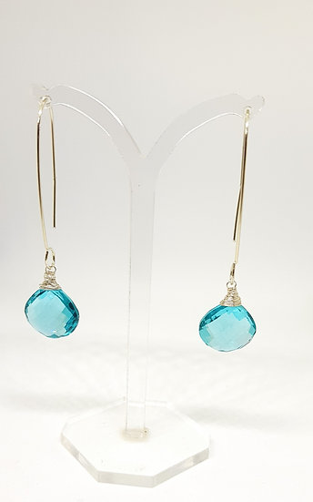 Apatite Briolettes Earrings
