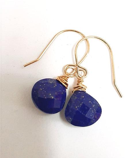 Lapis-Lazuli Earrings