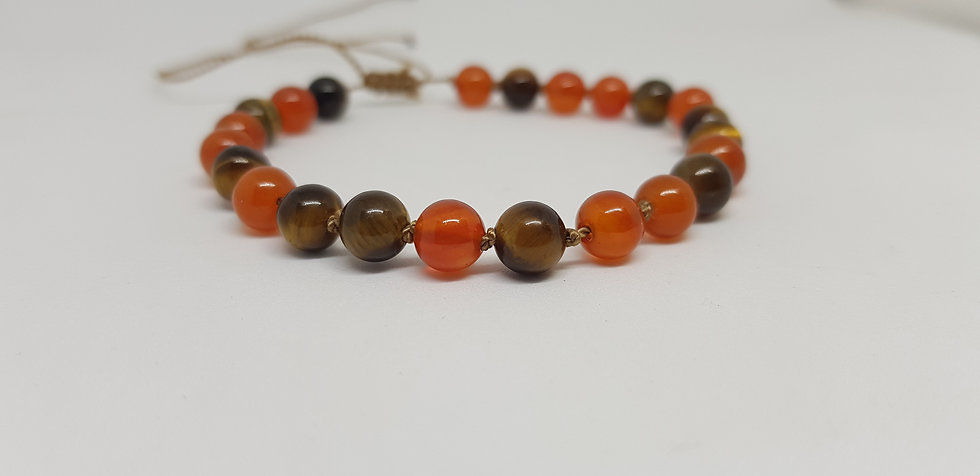 Bracelet - knotted & adjustable