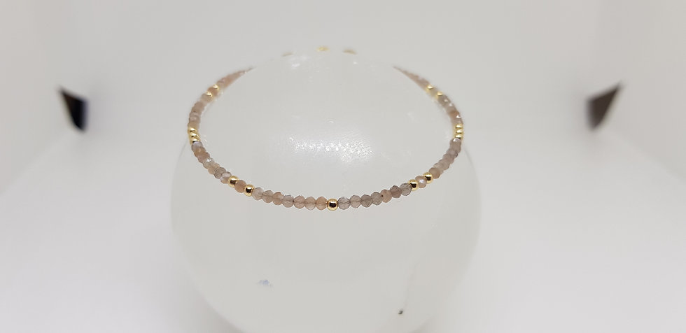 Moonstone & Gold Filled Bracelet - Esprit de Lunes