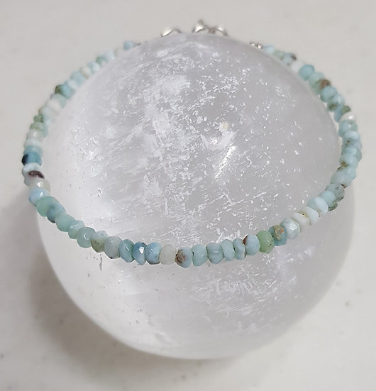 Larimar Bracelet: single | multi