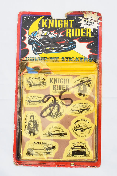 Knight Rider Color Me Stickers