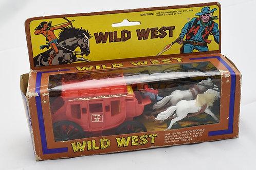 Wild West Express Stage Coach Mail