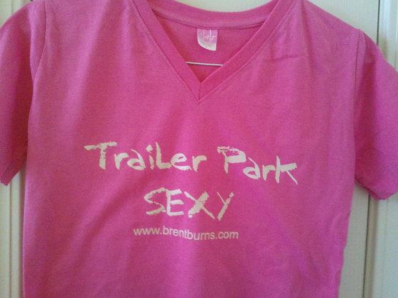 Trailer Park Sexy v-neck