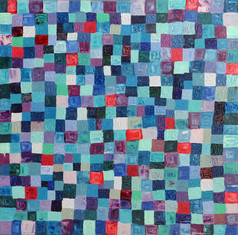Pixels Blue