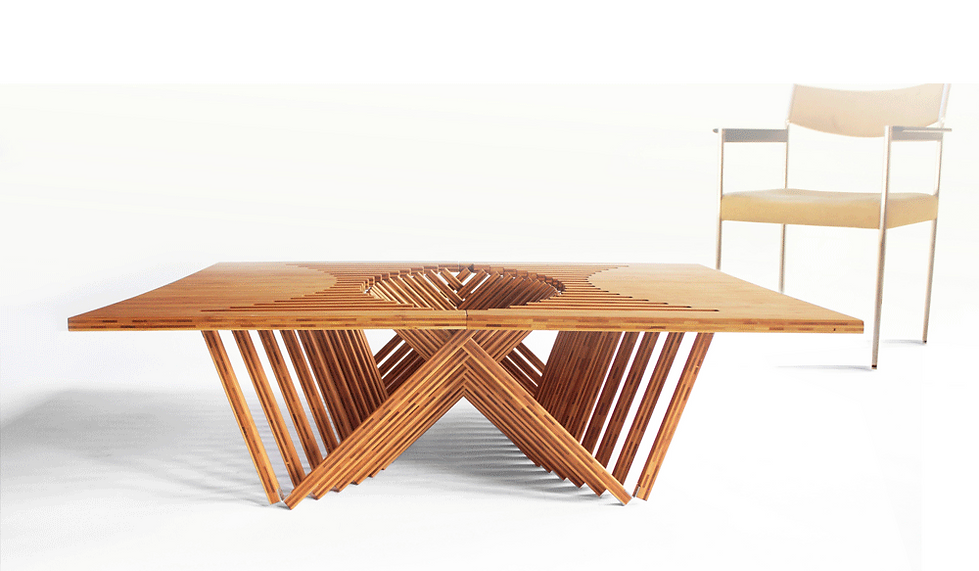 RISING TABLE by Robert van Embricqs
