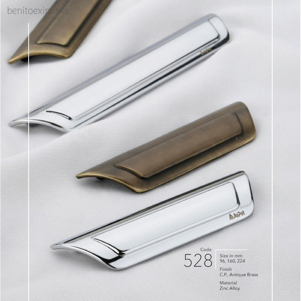 528 Conceal Handle of Zinc Alloy