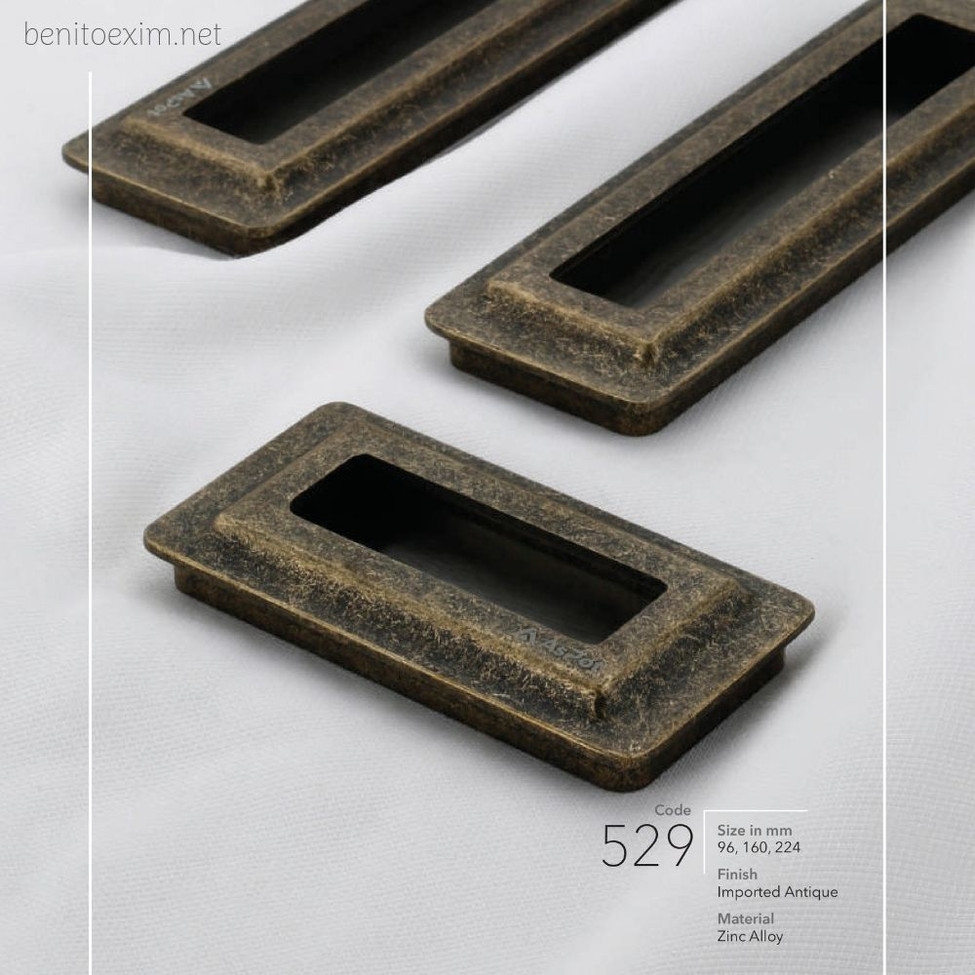 529 Conceal Handle of Zinc Alloy