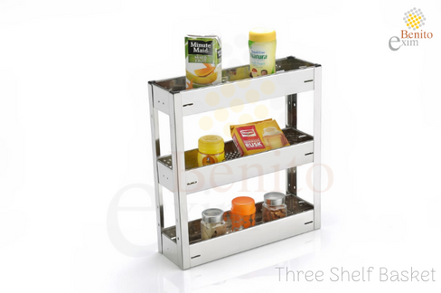 Three Shelf Basket