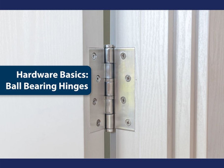 Advantages of Bearing Hinges for Door