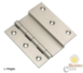 L hinges manufacturer supplier exporter