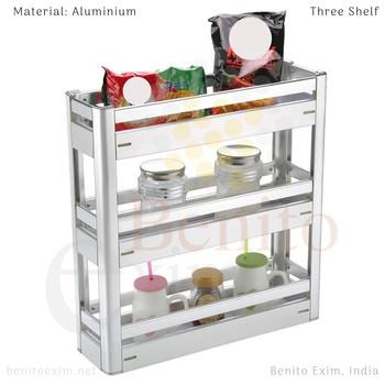 Three Shelf