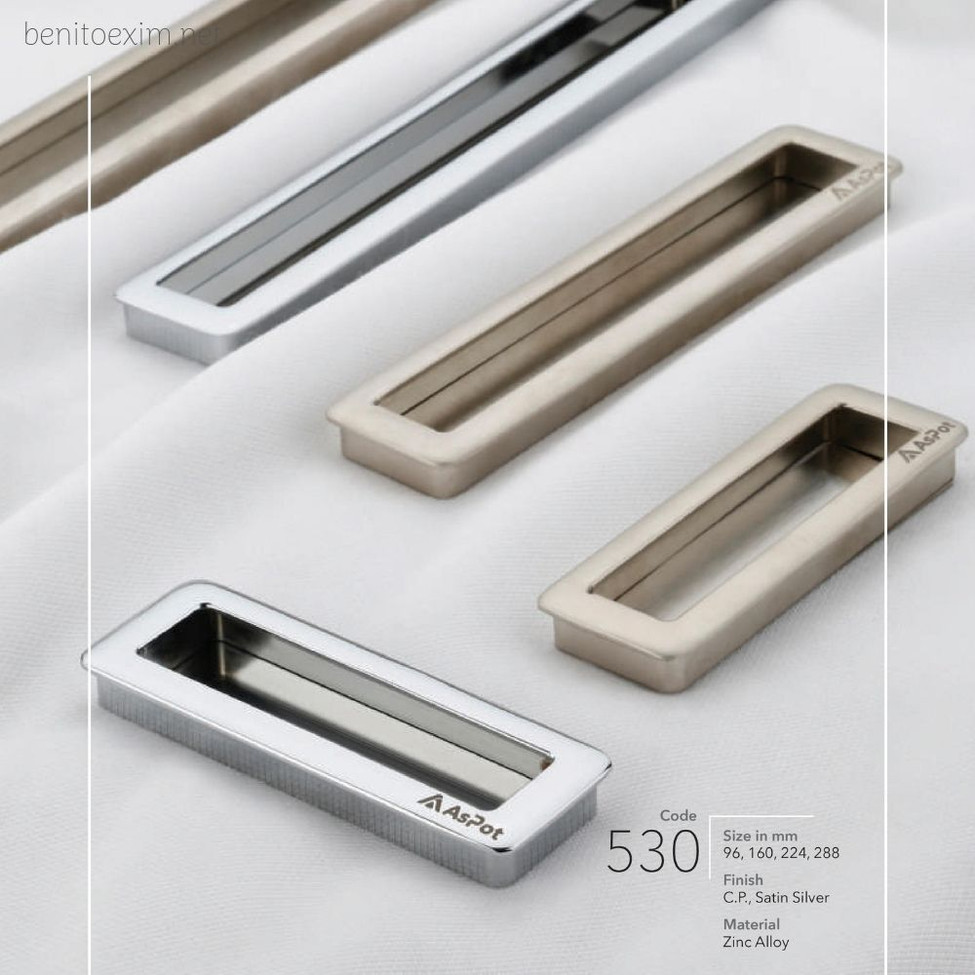 530 Conceal Handle of Zinc Alloy