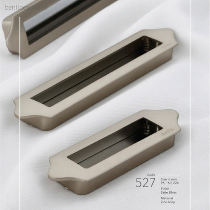 527 Conceal Handle of Zinc Alloy