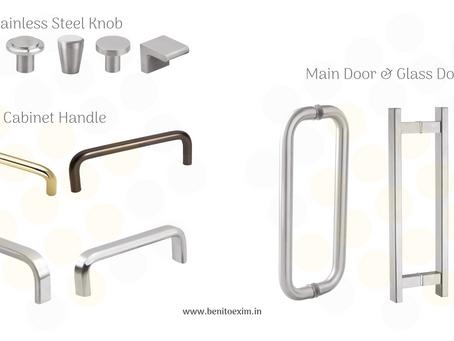 Types of Handle & usage in furniture | Varieties of Handle