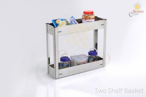 Two Shelf Basket