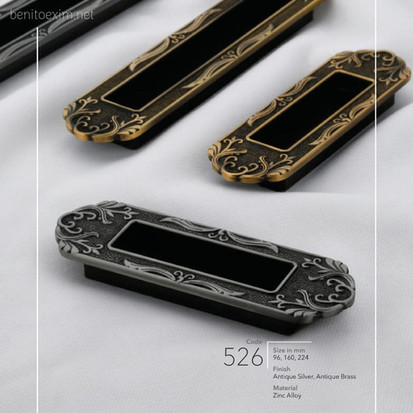 526 Conceal Handle of Zinc Alloy