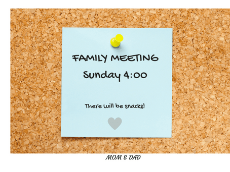 Family meetings with teens: It's not too late to start!