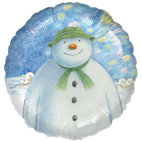 """The Snowman 18"""" Foil With 2 Latex To Match"""