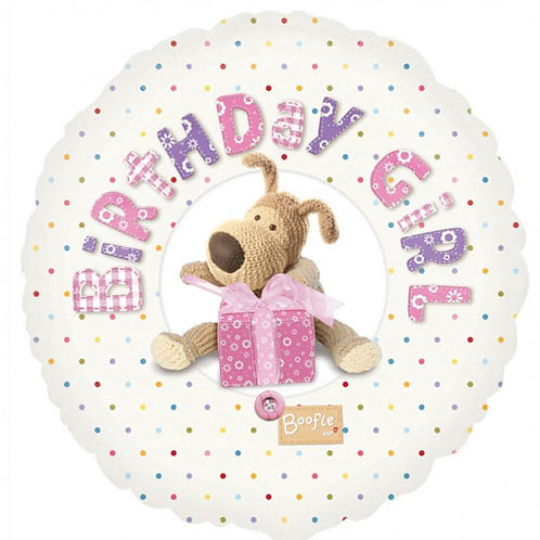 """Boofle 18"""" Foil With 2 Latex To Match"""