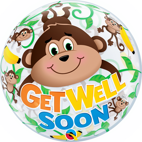 Get Well Soon Bubble Balloon