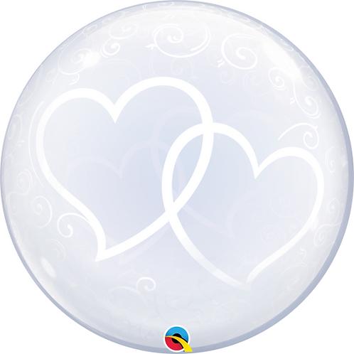 "24"" Heart Bubble Balloon"