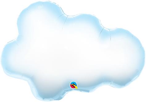 Large Cloud Foil Balloon