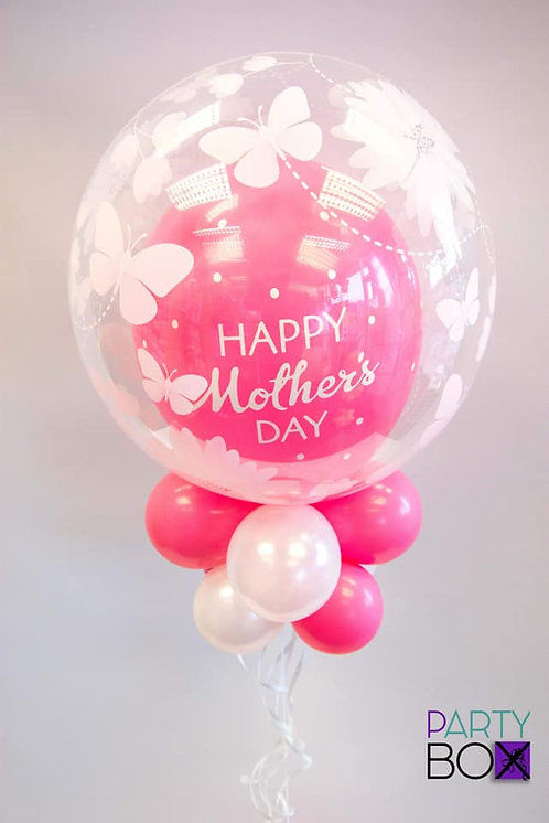 Wild Berry Pink Mothers Day Balloon