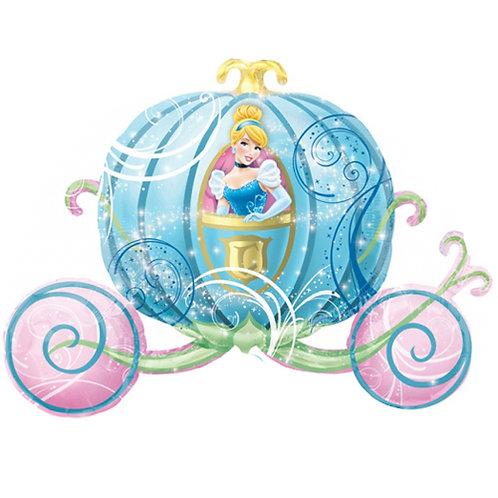 """Cinderella Carriage 33"""" Foil"""