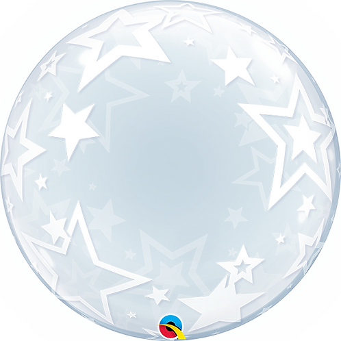"24"" Star Bubble Balloon Design"