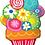 Thumbnail: Large Flower Pot Foil Balloon