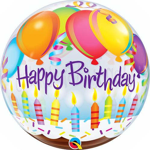 Happy Birthday Bubble Ballon