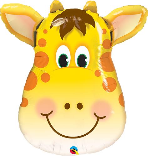Large Giraffe Foil Balloon