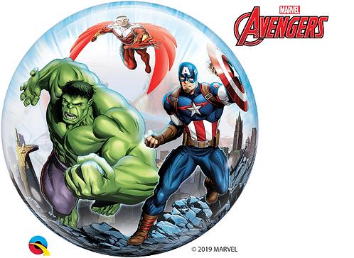 Avengers Trio Bubble Balloon