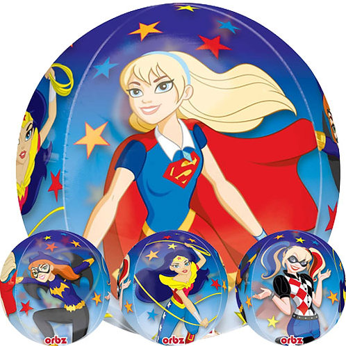DC Super Women Orbz Ballon