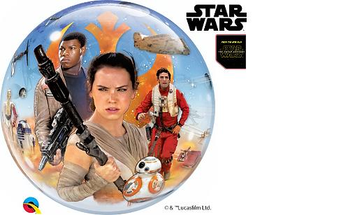 Star wars Force Awakens Bubble Balloon