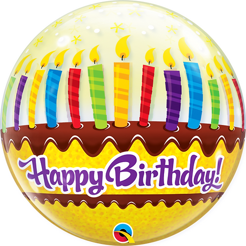 Happy Birthday Bubble Balloon