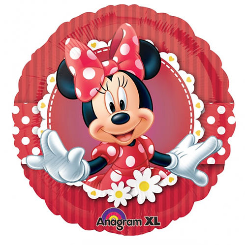 "Minnie Mouse 4 18"" Foil With 2 Latex To Match"