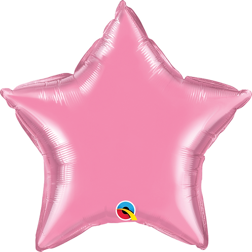 "18"" Pearl Pink Star"