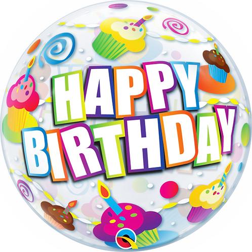 Happy Birthday Bubble Balloon