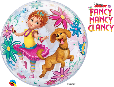 Fancy Nancy Clancy Bubble Balloon