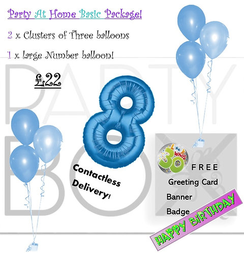 Basic Party at Home Pack