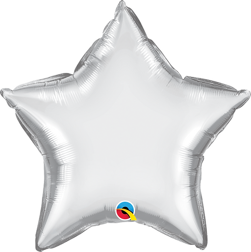 "18"" Chrome Silver Foil Balloon"