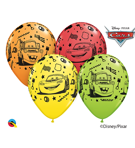 Disney Cars Balloon Cluster of 3