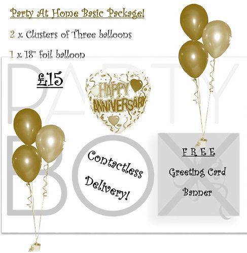 Stay at Home Anniversary Pack