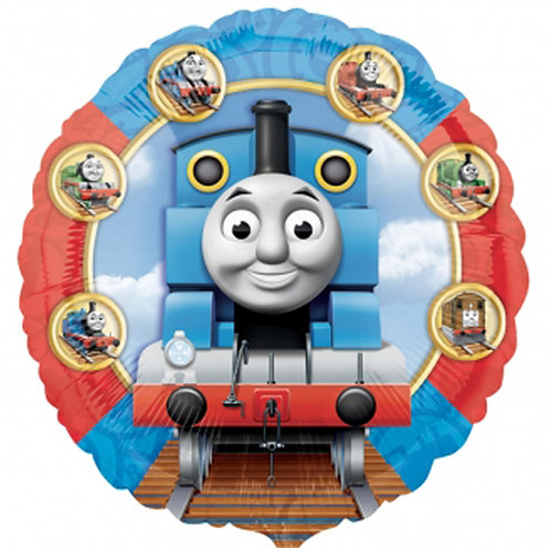 "Thomas Tank Engine 18"" Foil With 2 Latex To Match"